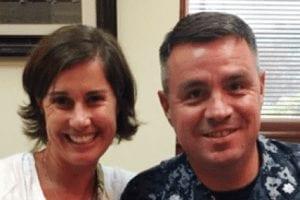Say hi to Kristi's new Annapolis home owners, Cheryl and Kurt