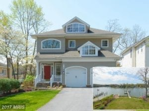 Waterfront Annapolis Homes video for 314 Riverside Drive