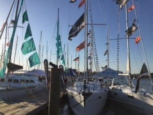 Waterfront Annapolis homes for sale include condos on Spa Creek overlooking the boat show
