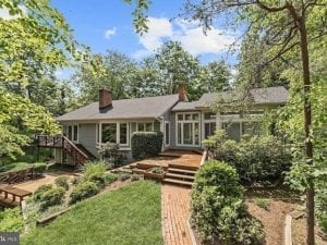 Waterfront homes in Annapolis for sale include 1892 Luce Creek Drive is an Annapolis waterfront home for sale.